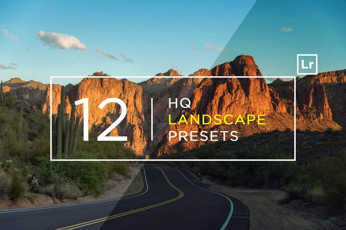 12 HQ Landscape Lightroom Presets