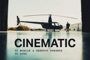 50 Cinematic Lightroom Presets and LUTs