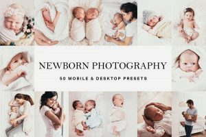 50 Newborn Baby Lightroom Presets