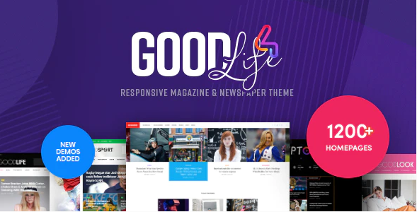 Goodlife Magazine wp theme