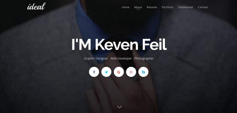 Ideal Responsive Blogger Template 1