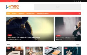 Smag Responsive Blogger Template 1