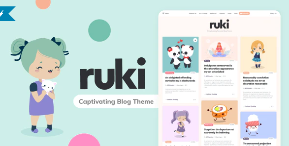 ruki wp theme download