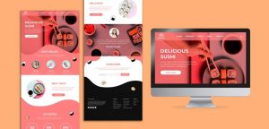 various web templates that make eye catching