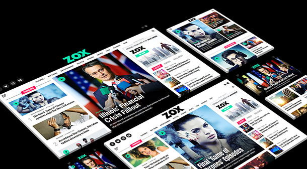 zoox news wp theme